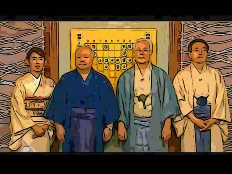 米長邦雄と加藤一二三と羽生善治