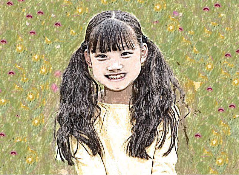 笑う黒板の少女