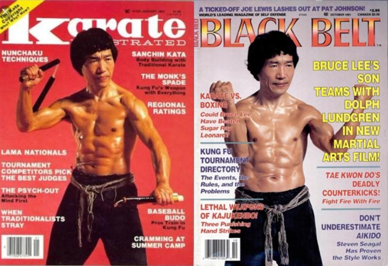 叔父の落合秀彦さん、アメリカの雑誌の表紙を2度飾る