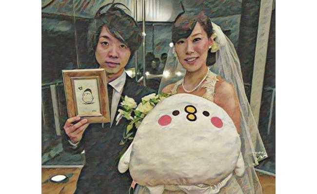 落合陽一さんの結婚式